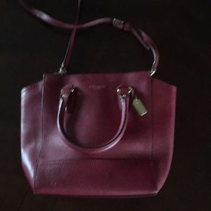 Coach handbag – gently used
